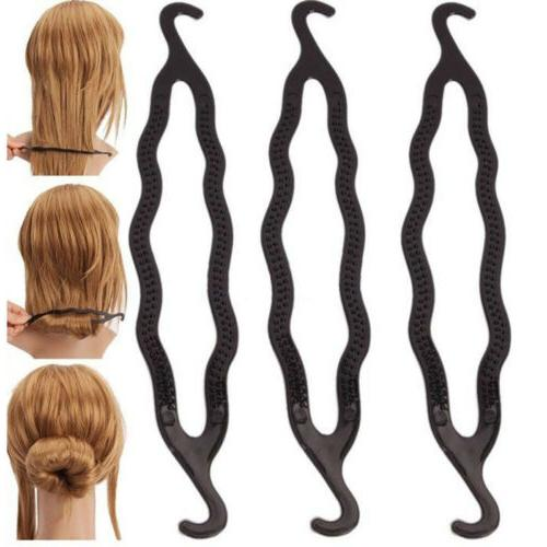 3x fashion magic hair twist styling clip