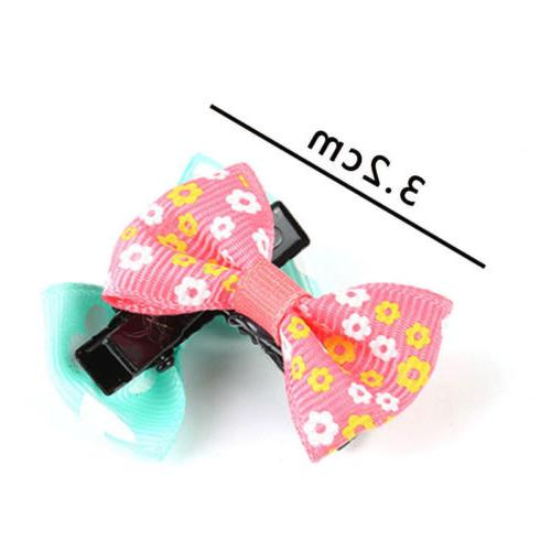 5/10PCS Bowknot Duckbill Clips Accessories Baby