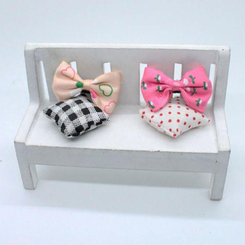 5/10PCS Clips Ribbon Hair Accessories for