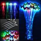 2/5/10XLot LED Hair Flashing colour Clip on Braid Decor Ligh