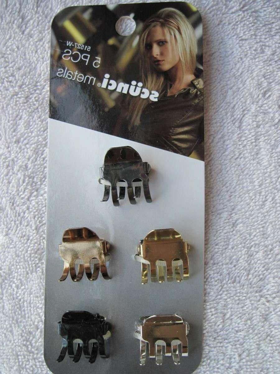 5 Metals Hair Jaw Claw Clips Conair Better