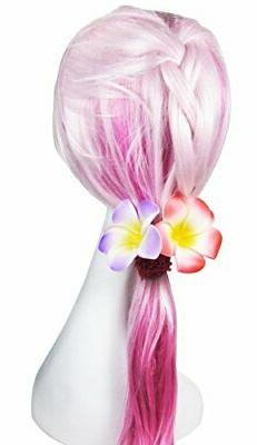 HipGirl 6pc Hawaiian Plumeria Hair Vacation