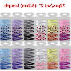 "72pcs/lot 2"" Boutique Girl Baby Kids Hair Clips Snap Hairpin"