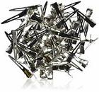 Alligator Clips Metal Silver Bag Hair Bulk Clips222668984401