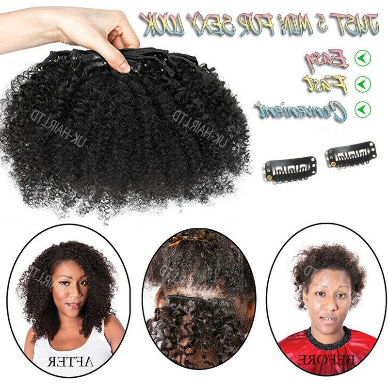 Brazilian Afro Hair Weaves in 100% Human Extensions