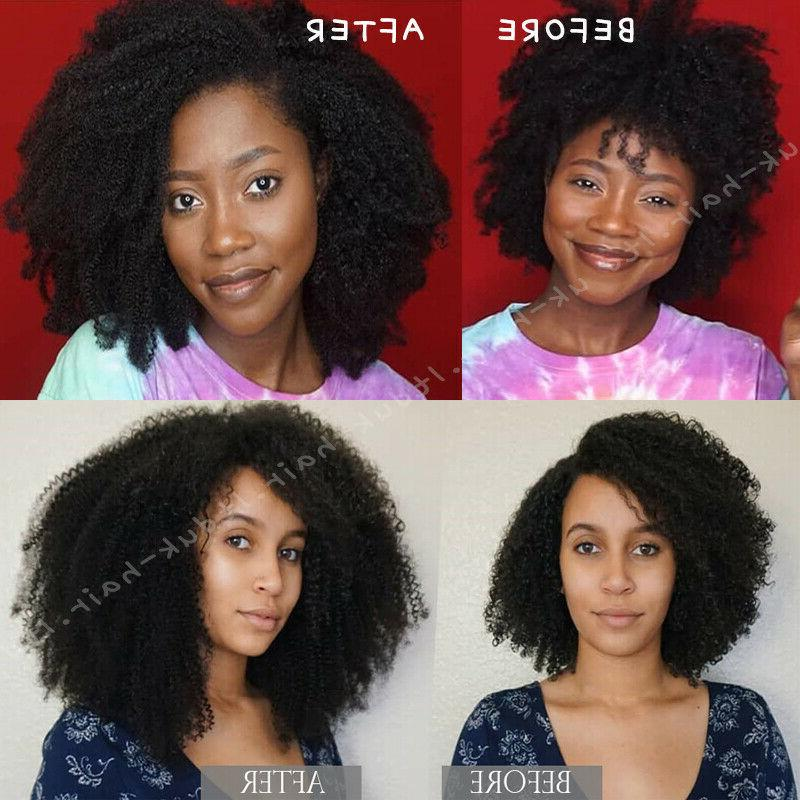 Brazilian Afro Hair Weaves in 100% Extensions