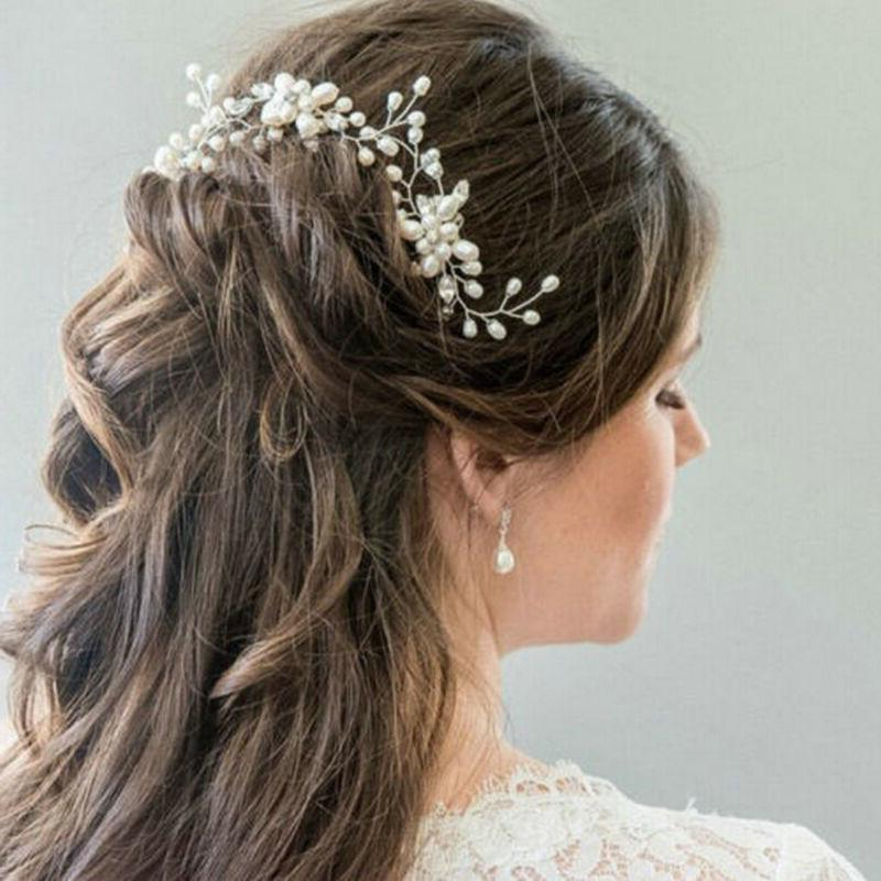 Bridesmaid Flower Slide Wedding Tiara Headpiece