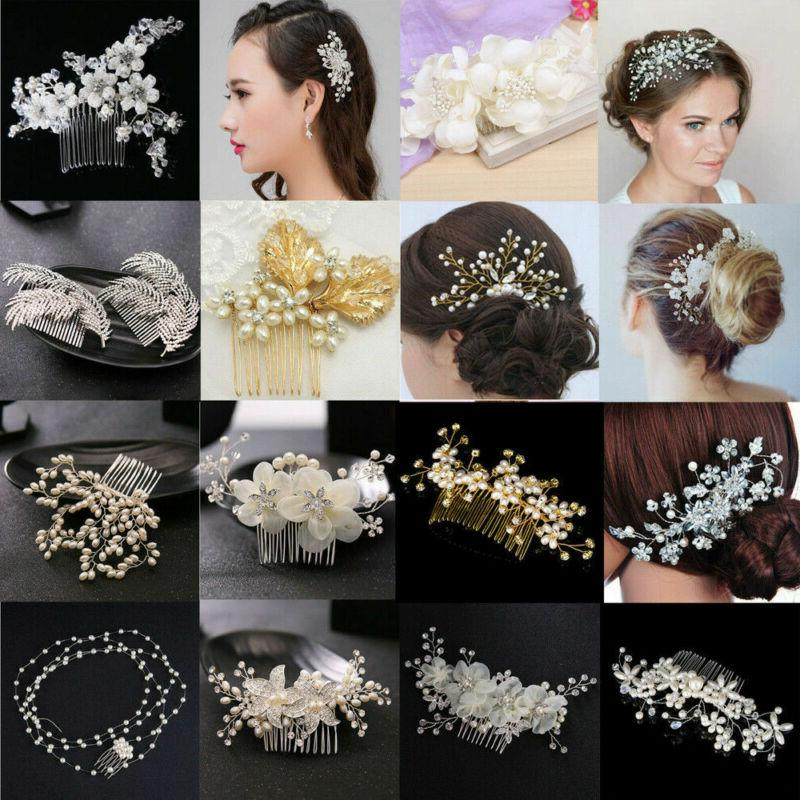 Bridesmaid Slide Comb Wedding Tiara Headpiece Gift