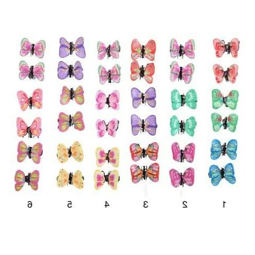 Butterfly Mini Small Snap Clip Claw