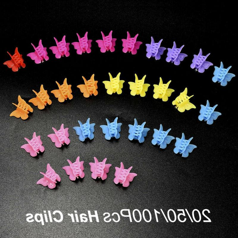 Girls Clamps Hairpins Butterfly Hair For Kids Claws