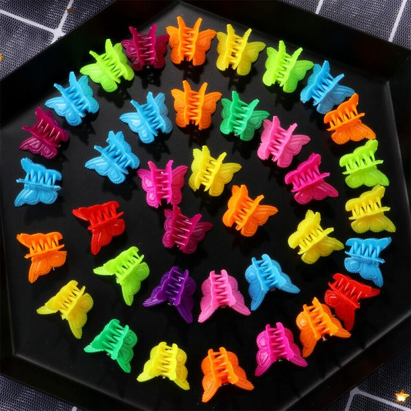 100Pcs Claw Barrettes Jaw Clip for Girls