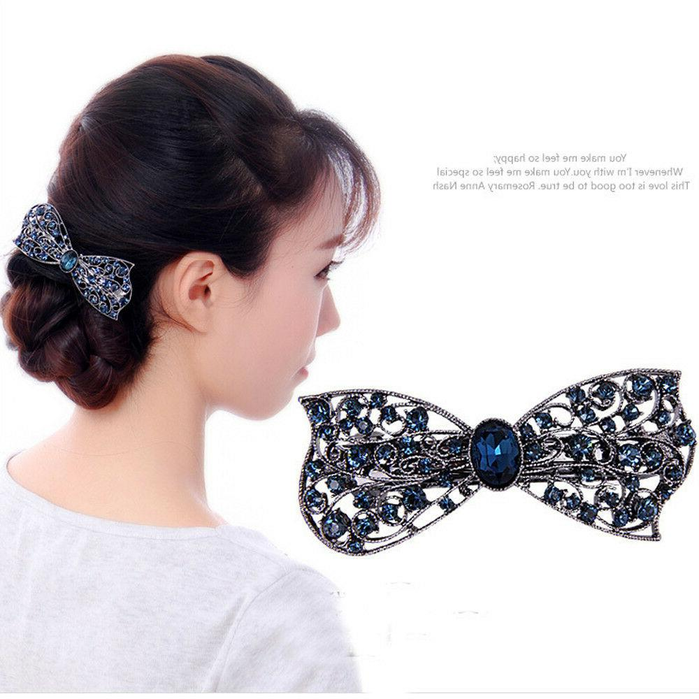 Classic Gemstone Hairpin Clip Hair Accessories For Jewelry