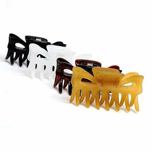 Classics Hair Clips Claws 4 Pack
