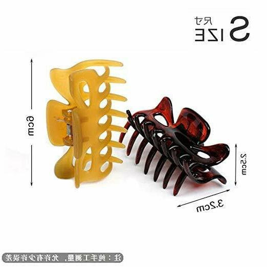 Classics Hair Clips Claws Pack New