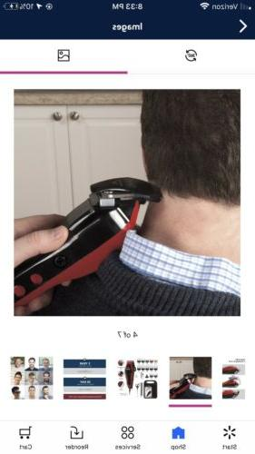 WAHL Clip Hair Clipper with Built-in Trimmer Color