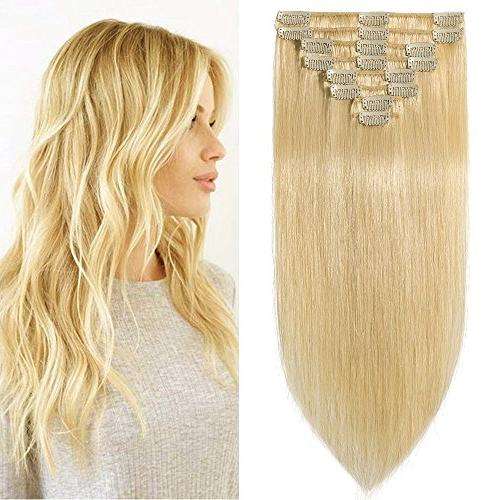 clip remy human hair extensions