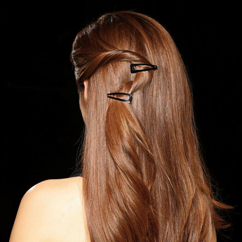 Double-grip Non-slip Barrettes Side Clamps Hair