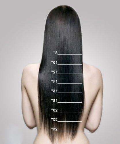 Double 100% Human Extensions Quality Full Long Soft 8pcs for Women Beauty