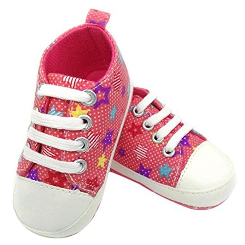 Efaster(TM) Baby Shoes Anti-slip Soft Colorful