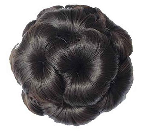 fake hair bun