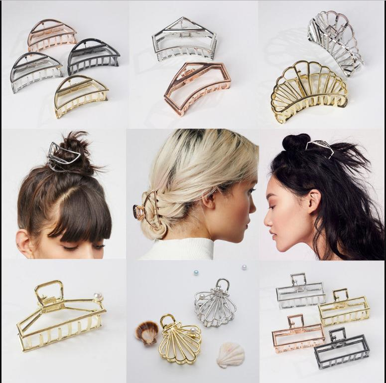 Fashion Hair Modern Stylish Claw Clips