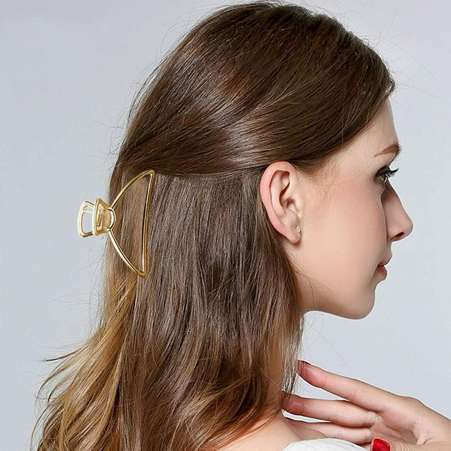 Fashion Metal Clips Open Clip Claw Hair Accessories