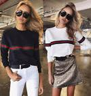 Fashion Women Ladies Loose Casual Long Sleeve T-Shirt Cotton