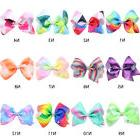 Girls Large Bowknot Hair Bow JoJo Hair Pins Alligator Clips