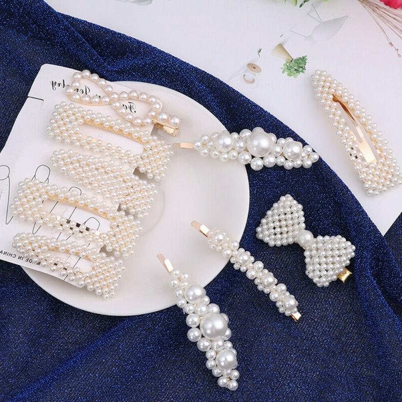 Hair Accessories Pearl Jewelry