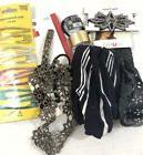 hair accessories lot 7pc Scunci, snap clips, head bands, Bar