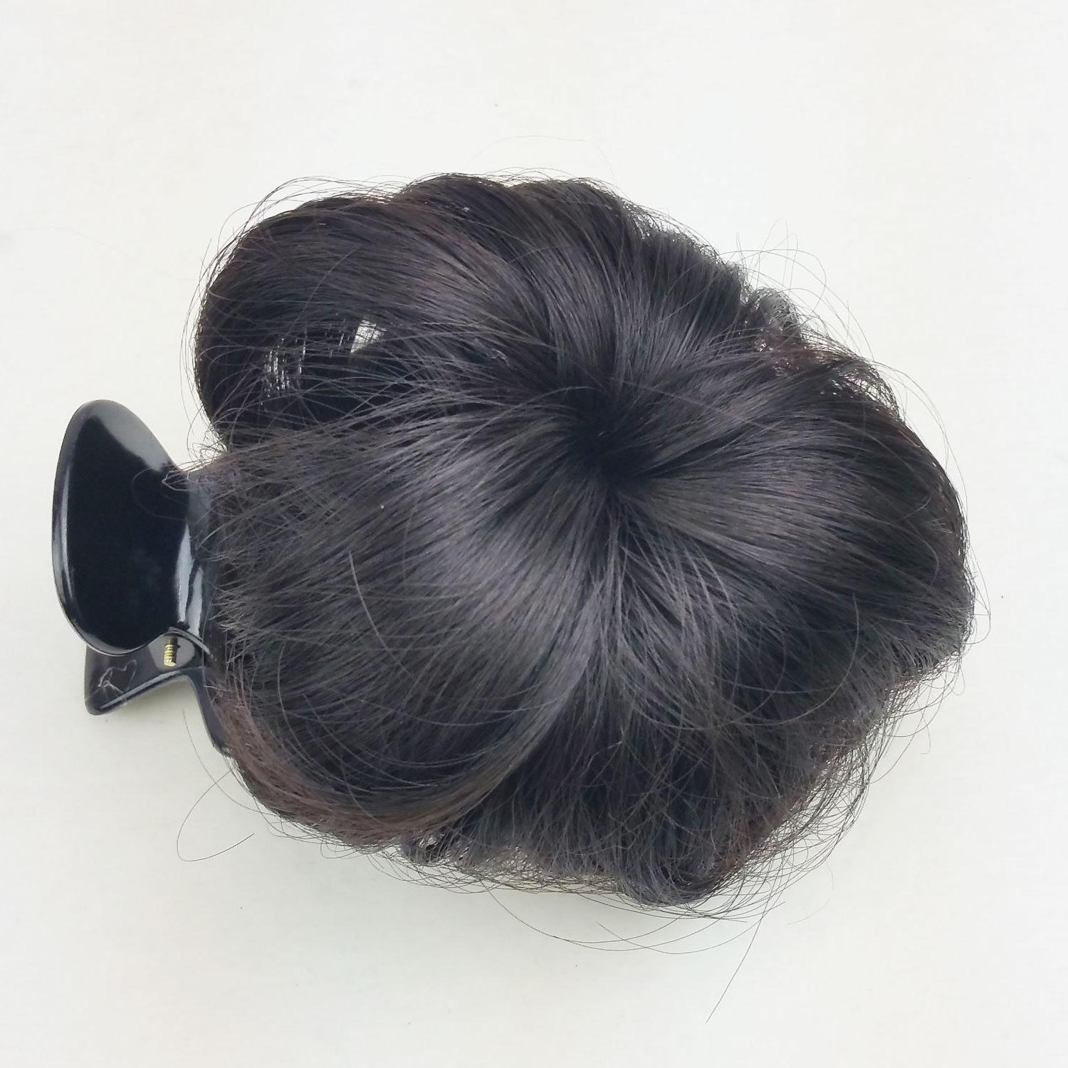 Hair Bun Clip in Extension Girl