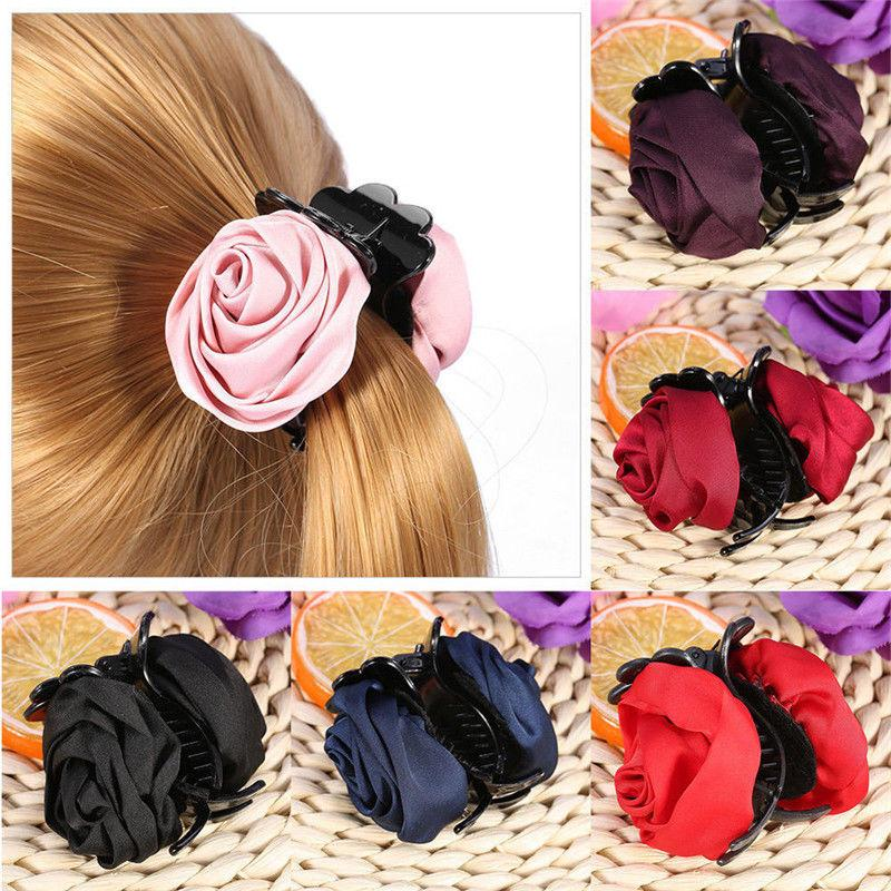Hair Clip Rose Claws Accessories For Girls Crab