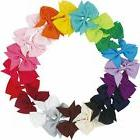 Lot 20pcs 3.5 Inch Baby Hair Bows For Girls Kids Hair Bands
