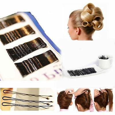 Lots 300PCS Invisible Hair Clips Flat Top Bobby Pins Grips S