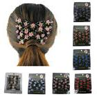 Magic Beads Double Hair Comb Clip Stretchy For Women Bridal
