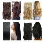 MagiDeal Synthetic Clip In Hair Pieces Natural Invisible Hai