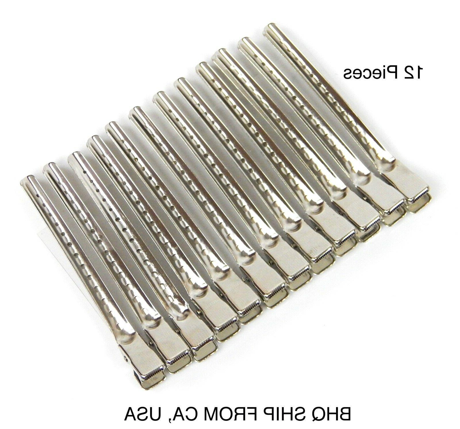 Metal Duck Bill Sectioning Clips Barber Cutting Clips Pcs