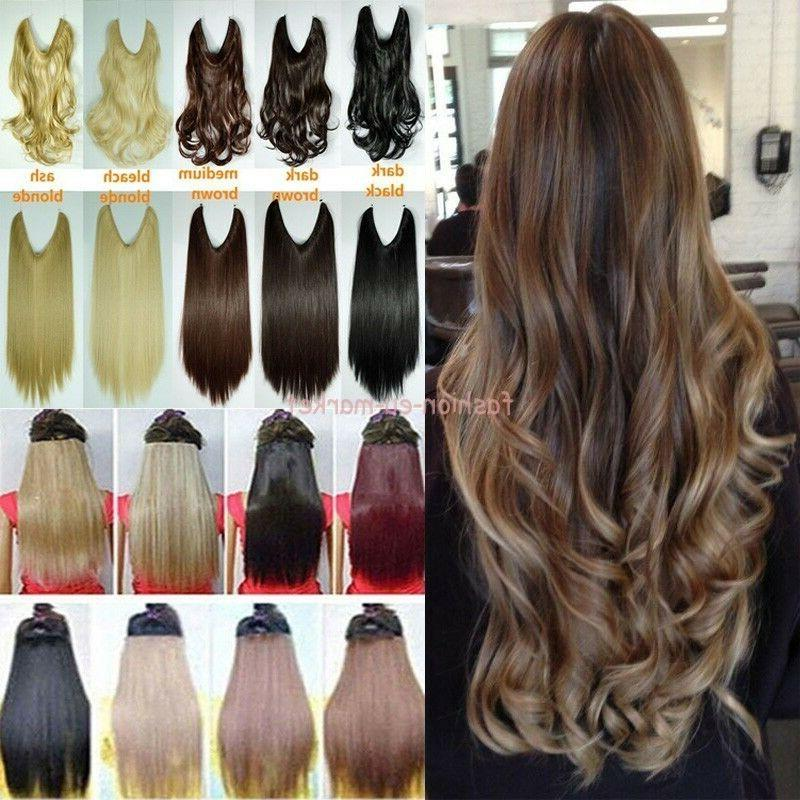 no clips headband wire hairpiece hair extensions