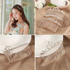Noble Women Crystal Hair Combs Girls Hair Clips Elegance Hai
