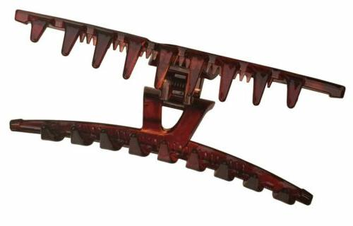 Parcelona Pinch Shell Crystal Jaw Hair Claw Clip