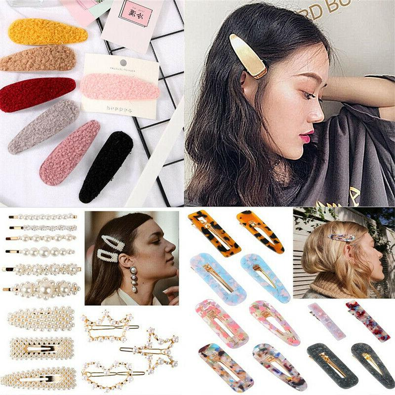 Popular Clip Snap Hairpin Accessories