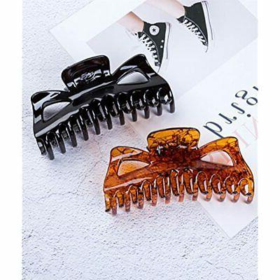 Prettyou Inches Hair Clips Crystal Plastic