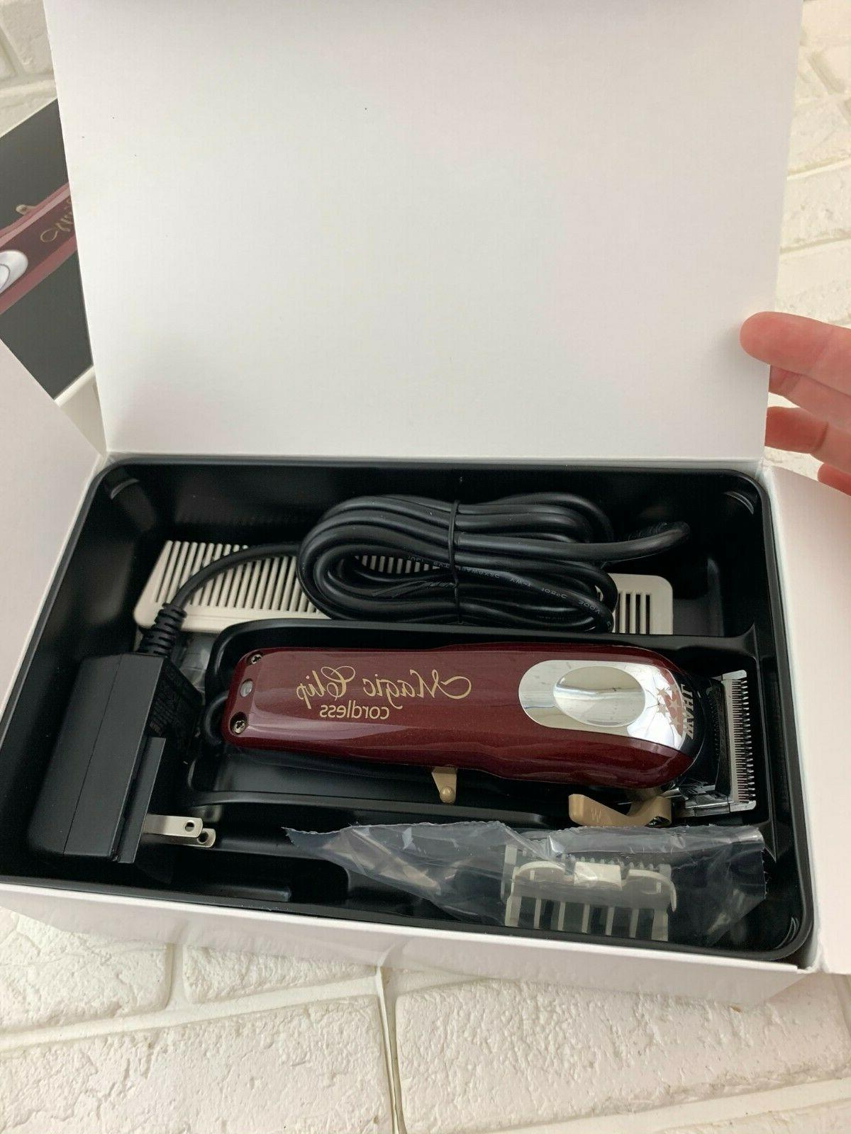 Wahl Pro 5-Star Magic Clip Cordless Hair Clipper for Model #8148
