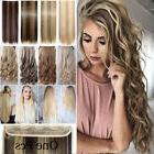 Real Long 100% Natural Extensions Clip in HAIR EXTENTIONS 5