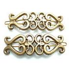 "Set of 2 Satin Gold 2.25"" Camila Paris CP1214/2 Barrettes Th"