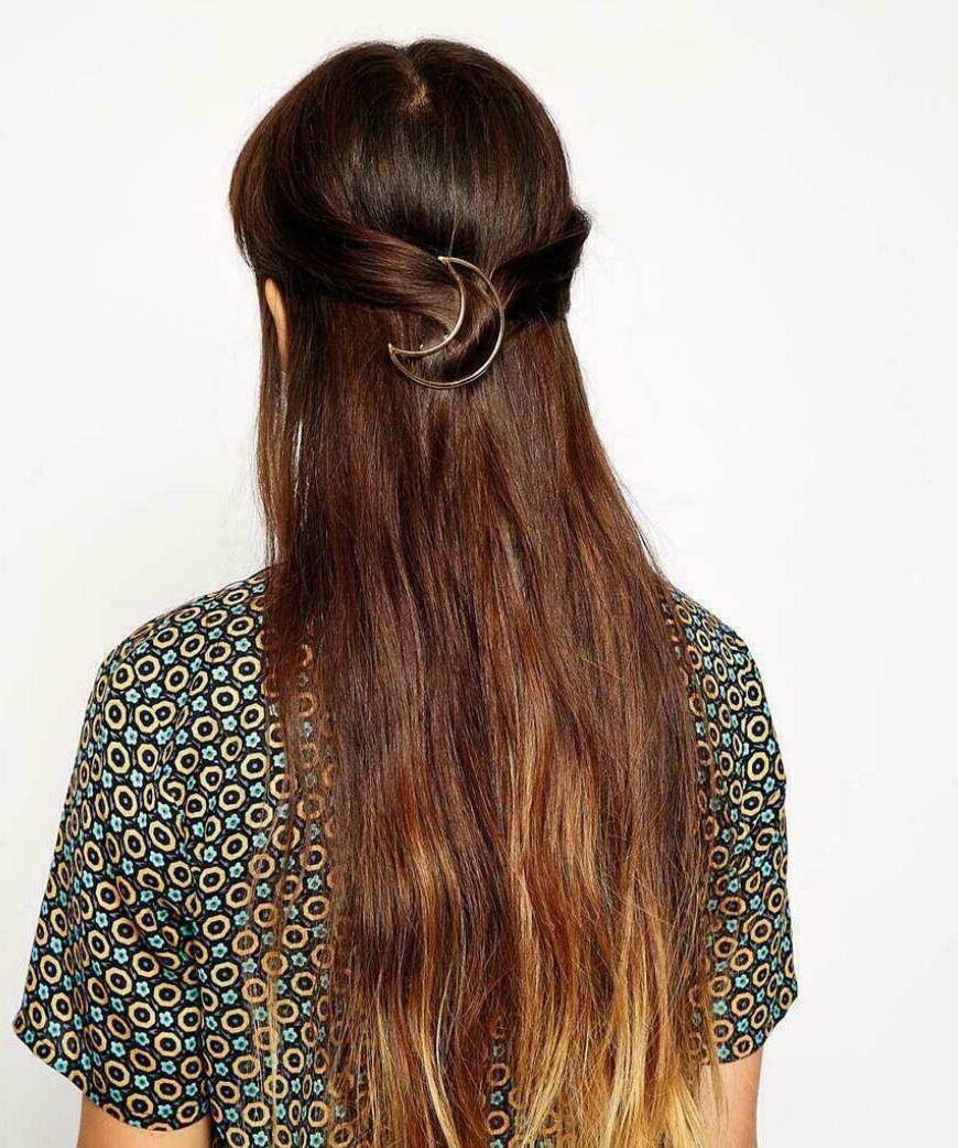 Sexy Shape Clips Metal Hairpins Ponytail Holder