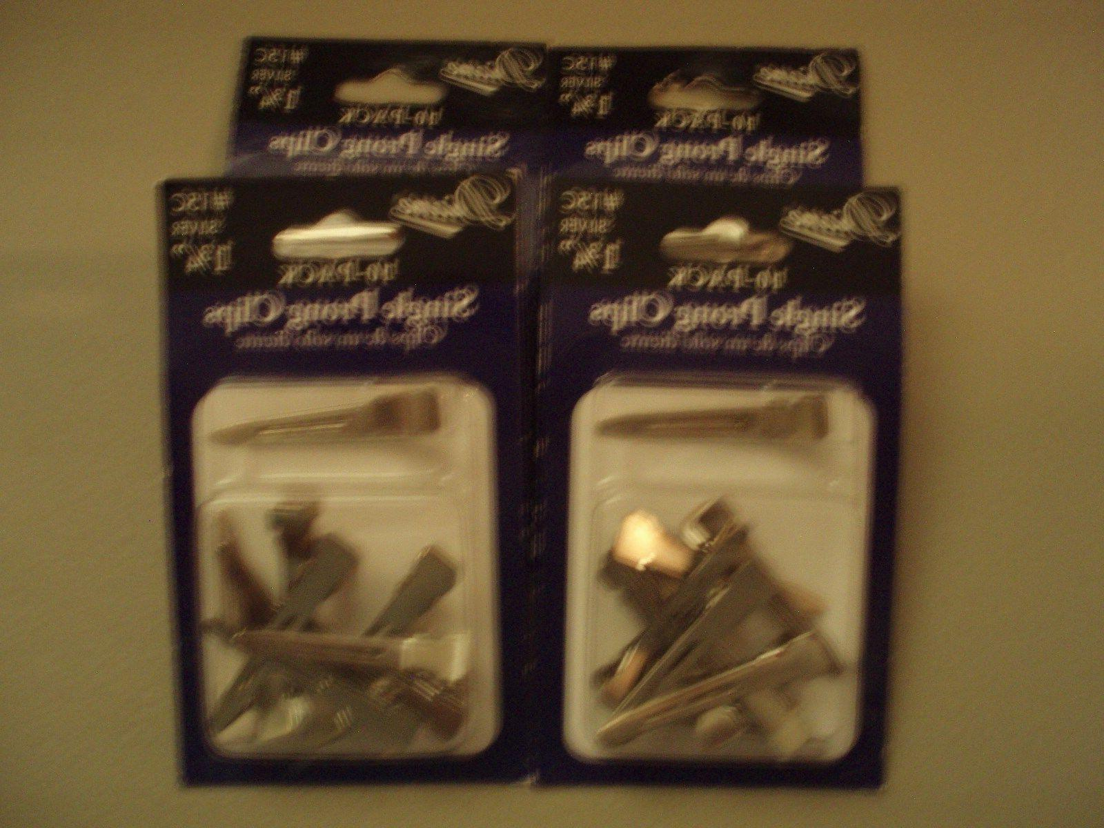 Single Prong Hair Clips Diane Lot of 20 Pks  New in Package