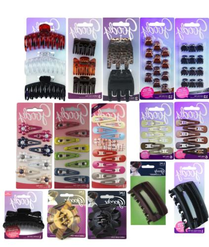 Goody SlideProof & Ouchless Hair Accessory Clips - Choose Yo