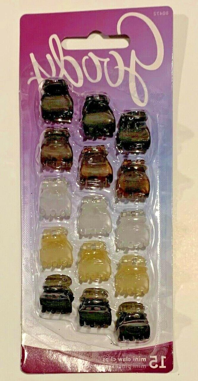 GOODY - MIN CLAW CLIPS - SNAP -