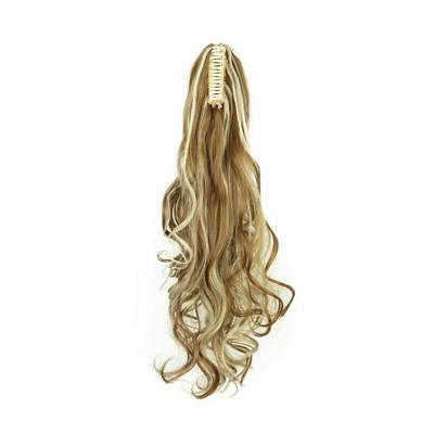 Synthetic Tail Hair Extensions On